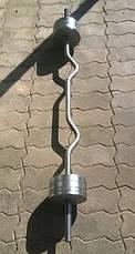 Гриф W-подібний 140 см (25 мм), фото 2