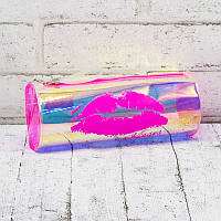 Пенал школьный Holiday силиконовый ГУБКИ розовый