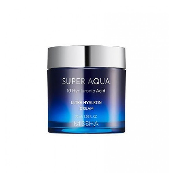 Супер увлажняющий крем с гиалуроновой кислотой MISSHA Super Aqua Ultra Hyalron Balm Cream Original 70ml