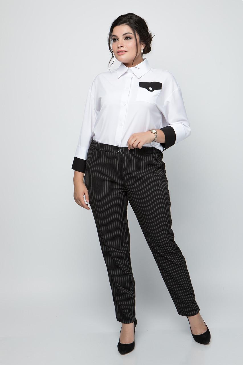 Женские классические брюки больших размеров р. 50-60
