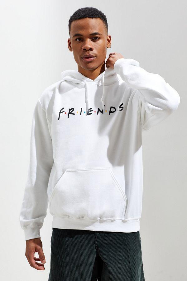 Худи Friends толстовка белая