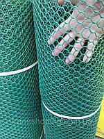 Заборы садовые ,Сетки Пластиковые.  0.8 м Х 30м  (ячейка 20Х20 мм)