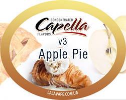 Ароматизатор Capella Apple Pie v3 (Яблочный пирог v3)