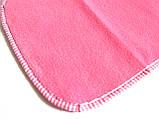 Нагрудник / слюнявчик для собак средний водонепроницаемый розовый, фото 2