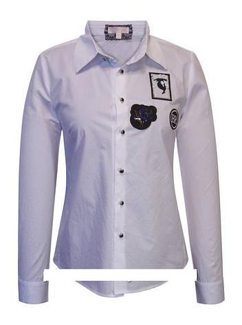 Детская школьная блуза для девочки с рукавом от BEAR RICHI 561277   140-168р., фото 2