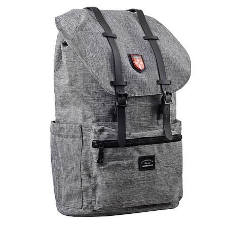 Рюкзак молодежный YES  CA 182,  серый                                                     , фото 2