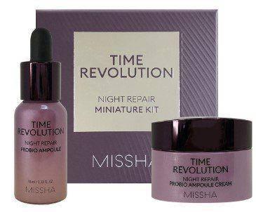 Антивозрастной набор миниатюр MISSHA Time Revolution Night Repair Miniature Kit, фото 2