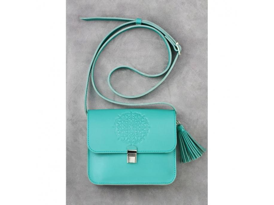 Женская бохо-сумка Blanknote Lilu BN-BAG-3-tiffany