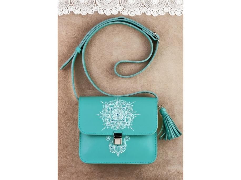 Женская бохо-сумка Blanknote Lilu BN-BAG-3-tiffany-art