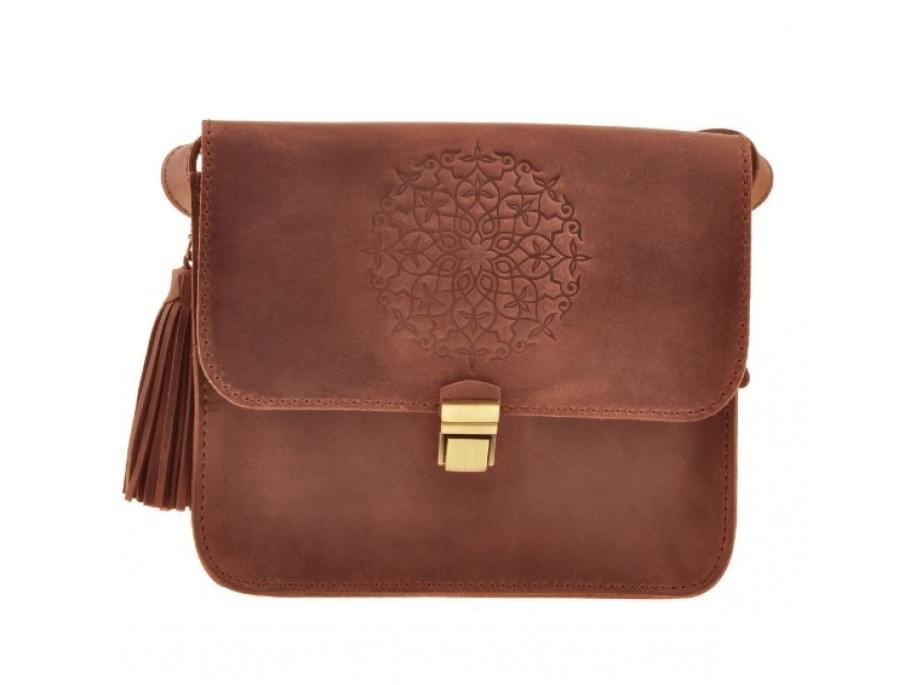Женская бохо-сумка Blanknote Lilu BN-BAG-3-ko-man