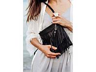 Женская кожаная сумка-кроссбоди Blanknote BN-BAG-16-onyx, фото 1