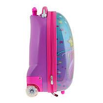 Чемодан YES  детский на колесах Barbie, LG-3                                              , фото 2