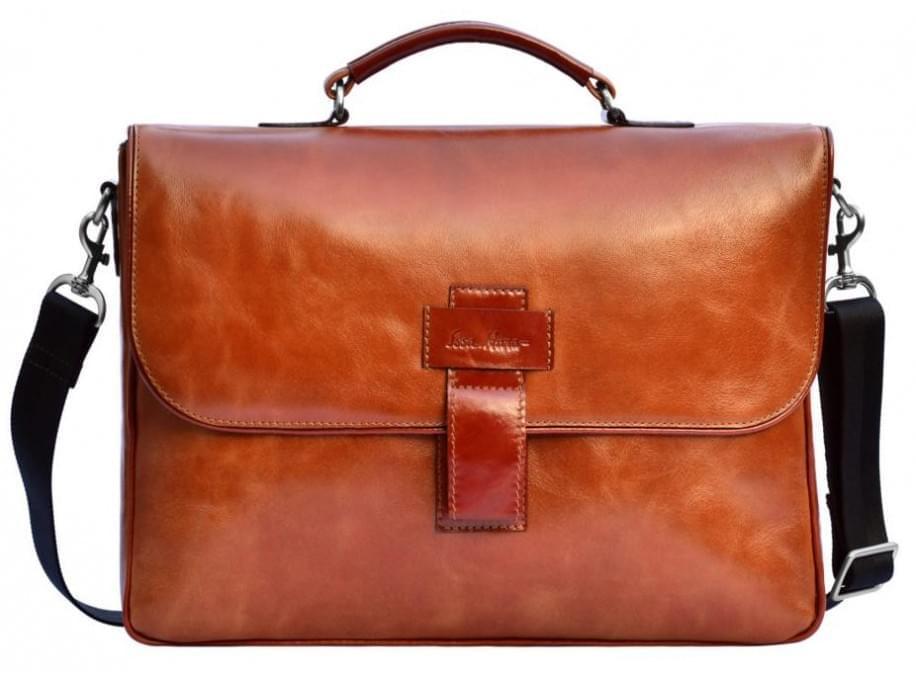 Кожаный портфель Issa Hara B20LB