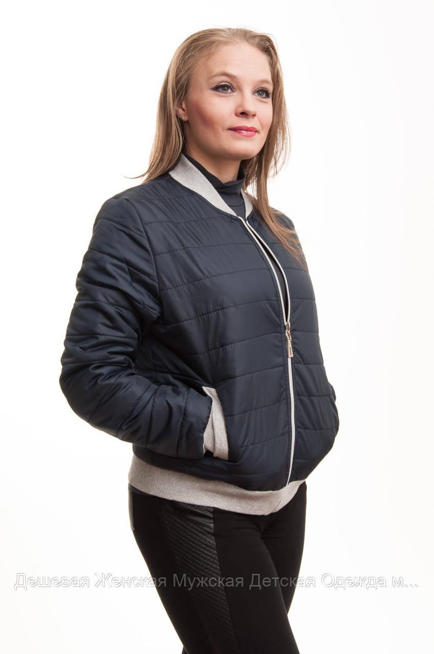 Куртка жіноча бомбер весна-осінь норма