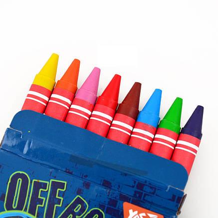 "Восковые карандаши YES 8шт. ""M-Trucks"", 7*90мм,  YES                                      , фото 2"