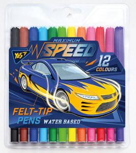 "Фломастеры 12 цв. ""Speed car""                                                             , фото 2"