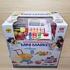 Детский супермаркет. Игровой набор касса,тележка,корзина,сканер., фото 4