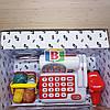Детский супермаркет. Игровой набор касса,тележка,корзина,сканер., фото 5