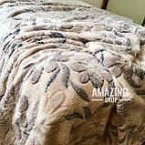 Покривало плед з бамбукового волокна ( мікрофібра) Розмір 200*230 див., фото 3