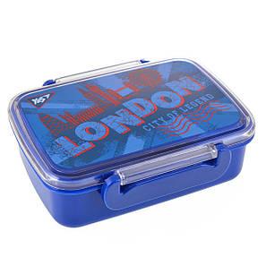 """Контейнер для еды """"London"""", 420 мл, с разделителем                                        , фото 2"""