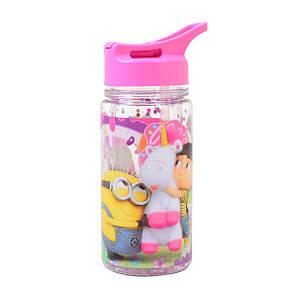 "Бутылка для воды YES с блетсками ""Minion Fluffy"", 280 мл                                  , фото 2"