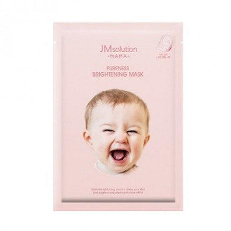 Гипоалергенная маска для яркости и сияния JM Solution MAMA Pureness Brightening Mask