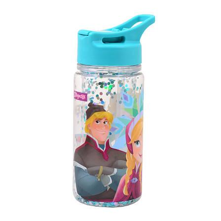 """Бутылка для воды 1Вересня с блестками """"Frozen"""", 280 мл                                    , фото 2"""
