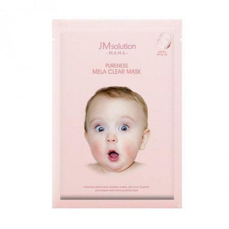 Интенсивная маска для ровного цвета лица и упругой кожи JM Solution MAMA Pureness Mela Clear Mask