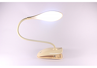 Сенсорна настільна лампа на прищіпці LED DP-6014, фото 1