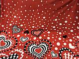 Сарафан  парео трансформер  красный в белый горох, фото 7