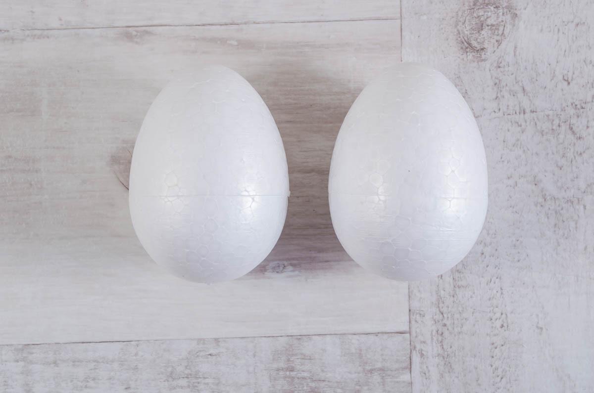 """Набор пенопластовых фигурок SANTI """"Яйцо"""", 2шт/уп., 78mm"""
