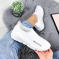 Кроссовки женские белые , женская обувь