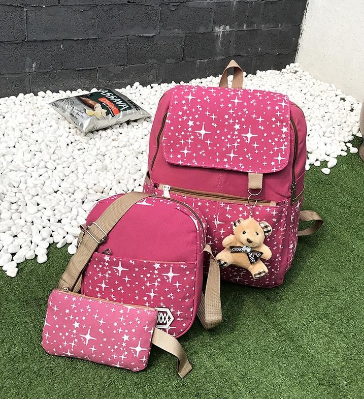 Школьный рюкзак портфель 4 в 1