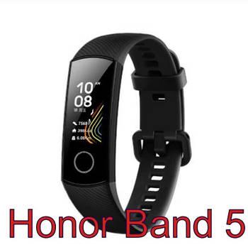 Смарт браслет Honor Band 5, Ip68, 5ATM( Конкурент Mi Band 4)  +датчик кислорода