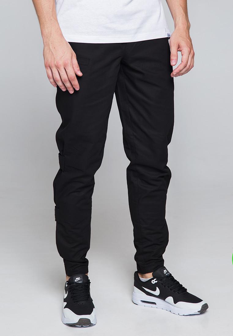Карго штаны мужские черные бренд ТУР модель Веном (Venom)
