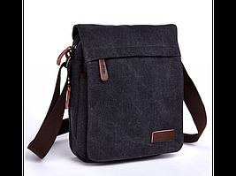 Черный мужской мессенджер Tiding Bag 8646A