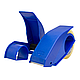 Диспенсер для скотча Rubin 40-48 мм пластмассовый синий, фото 2