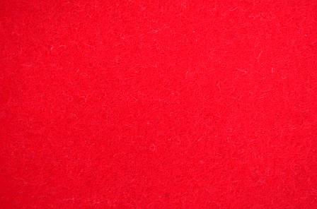 Набор Фетр жесткий, красный, 60*70см (10л)                                                , фото 2