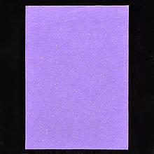 Набір м'який Фетр з глит., бузковий, 21*30см (10л)