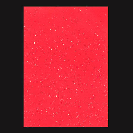 Набор Фетр мягкий с глит., красный, 21*30см (10л)                                         , фото 2