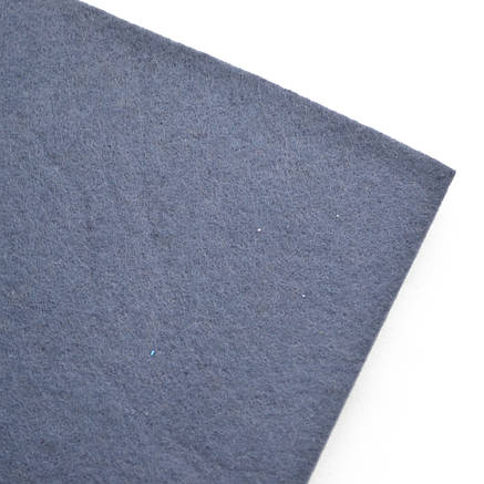 Набор Фетр жесткий, темно-серый, 21*30см (10л)                                            , фото 2