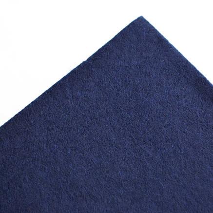 Набор Фетр мягкий, индиго, 21*30см (10л)                                                  , фото 2