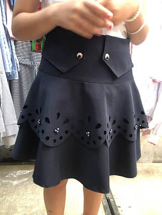 Школьная юбка с перфорацией, фото 2