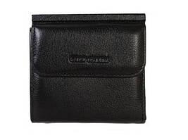 Черный кожаный женский кошелек Horton Collection Trw690A
