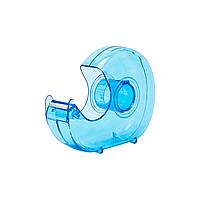 Диспенсер для скотча Rubin 12-18-24 мм пластмассовый голубой