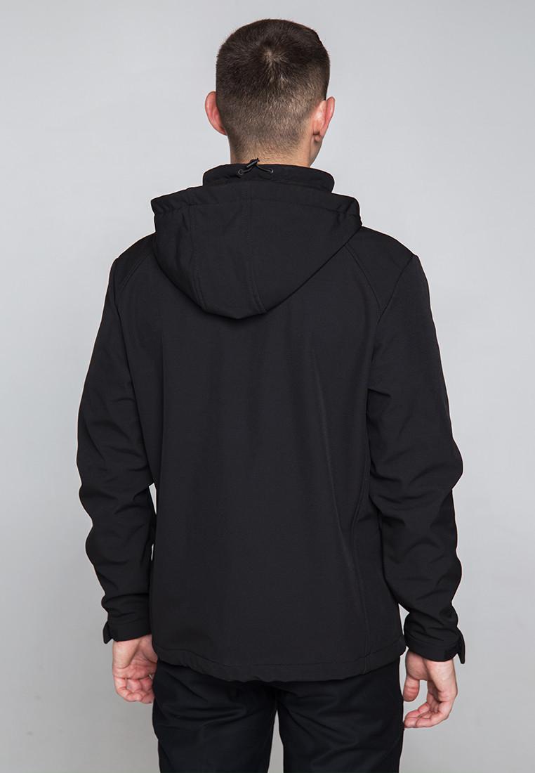 Демисезонная куртка мужская черная от бренда ТУР модель Центурион (Cеnturion) - фото 3