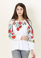 Блуза с насыщенной вышивкой