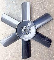 Крыльчатка вентилятора Газ-53/3307, /пластик/, 3307-4808070