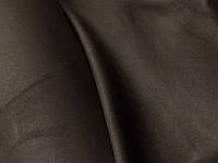 Замш коричневый безосновный хорошего качества очень похож на кожу.