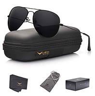 Солнцезащитные очки LUENX  Mens Aviator с поляризованным корпусом - UV 400 Protection Colors